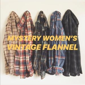 Mystery Women's Vintage Flannel